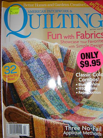 American Patchowrk and Quilting Issue 85