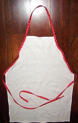 SewWitty Apron from a T-Towel