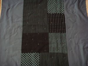 Back of Suduko Quilt