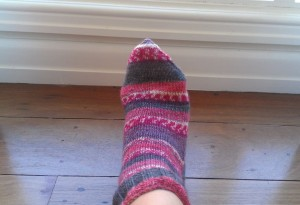 Socks are Finished