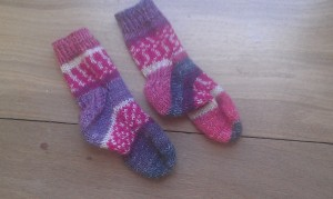 Two at a Time Sample Socks
