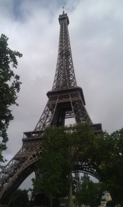 I was in Paris!