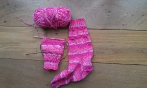 Second Sock Progress