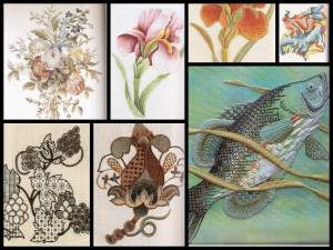 Images from 'Royal School of Needlework - Embroidery Techniques'