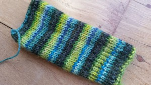 Swatch for next pair of socks