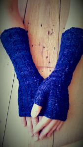 Finished Gibson Mitts