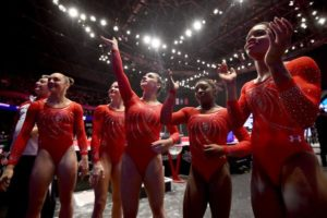 American Gymnasts at the 2015 World Cup - BEN STANSALL / AGENCE FRANCE-PRESSE — GETTY IMAGES