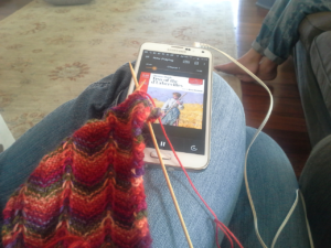 Knitting and Listening